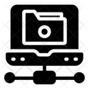 Folder Networking Icon