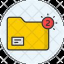 Folder Notification Icon
