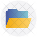 Folder Open Storage Office Icon