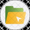 Folder Archive Arrow Icon