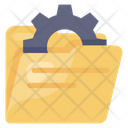Folder Setting Folder Management Folder Configuration Icon