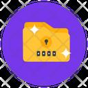 Folder Password Folder Access Folder Security Icon