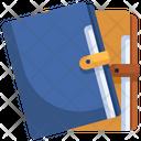 Folder Pocket Diary Book Icon