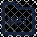 Folder Ppt Icon