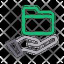 Folder Secure Files Icon