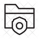 Folder Security Protection Icon
