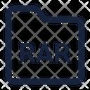 Folder Rar Icon
