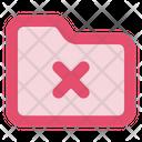 Folder Remove In Lc Document File Icon