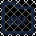 Folder Rtf Icon