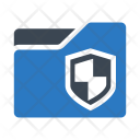 Folder Shield Lock Icon