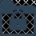 Folder Lock Security Icon