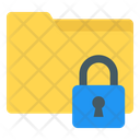Folder Lock Folder Security Folder Safety Icon