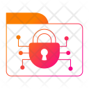 Folder Security Cyber Icon