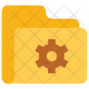 Folder Setting Data Icon
