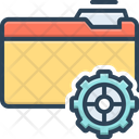 Setup Provision Organisation Icon