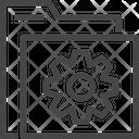 Folder Setting Folder Configuration Configuration Icon