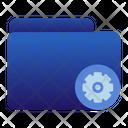 Folder Setting Icon