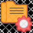 Folder Setting Folder Configuration Folder Management Icon