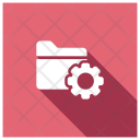 Folder Setting Folder Configuration Icon