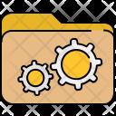 Folder Settings Data Icon