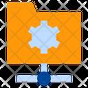 Folder Settings Folder Management Connection Icon