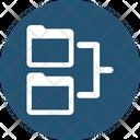 Browse Folder Tree Hierarchy Icon