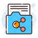 Folder Sharing Data Sharing Folder Icon