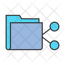 Folder Sharing Share Network Icon