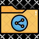 Folder Sharing Share Folder Share File Icon