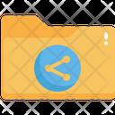 Folder Sharing Icon