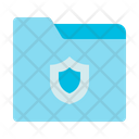 Data File Computer Security Icon