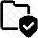 Folder Shield Icon