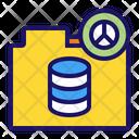 Database File Folder Icon