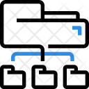 Folder Network Structure Icon