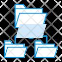 Folder Connect Data Icon