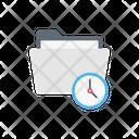 Folder Time Files Icon