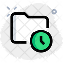 Folder Time Icon