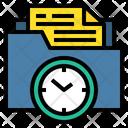 Folder Time Folder File Icon