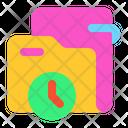 Folder Time Folder Time Icon