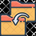 Folder Transfer Icon