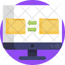 Folder Transfer Data Transfer Folder Icon