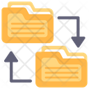 Folder Transfer File Transfer Document Transfer Icon