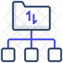 Folder Transfer Folder Exchange Data Folder Icon