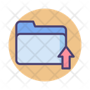 Folder Upload Icon