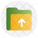 Arrow Out Upload Icon