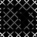 Upload Folder Up Arrow Icon
