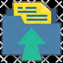 Folder Upload Folder File Icon