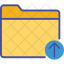 Arrow Up Documents Folder Icon