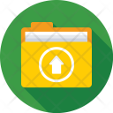 Folder Upload Archives Icon