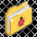 Spam File Spam Folder Folder Virus Icon